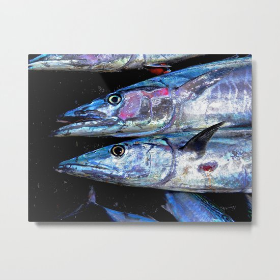 Catch of the Day: Wahoo Metal Print