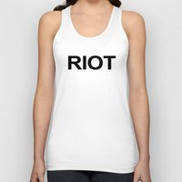 always sunny Tank Tops featuring Riot / Always Sunny / In Philadelphia by Earl of Grey