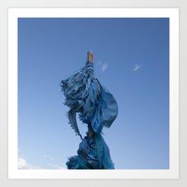 Sacred Blue Art Print