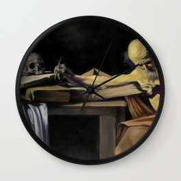 Saint Jerome Wall Clock