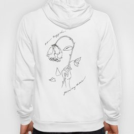 Growing Rose Hoody