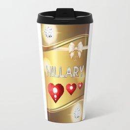 Hillary 01 Travel Mug