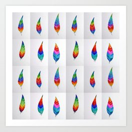 Rainbow Designs Art Print
