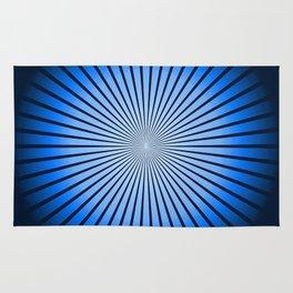 Star Blue Rug