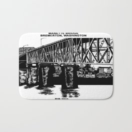 Manette Bridge Bath Mat