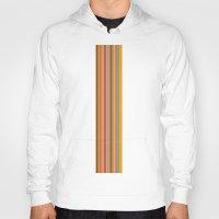 stripe Hoodies featuring stripe by Kurt Cyr