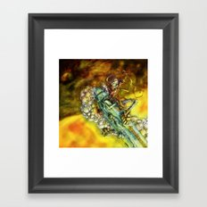 Every Missile Explodes Framed Art Print