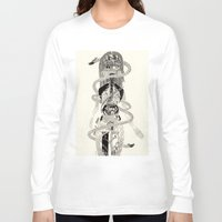 biology Long Sleeve T-shirts featuring Soul Biology  by Ursula Hart