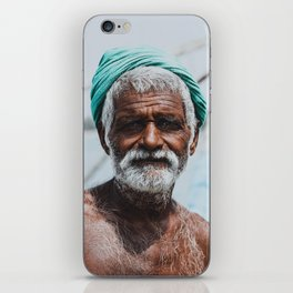Indian Fisherman iPhone Skin
