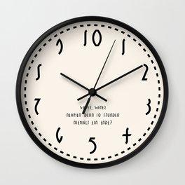 M E T R O P O L I S Wall Clock