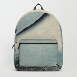 Hokusai, the blue fuji- hokusai,manga,japan,fuji, blue fuji,Shinto Backpack