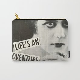 Life's an Adventure Carry-All Pouch