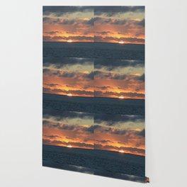 Heavenly Sunset Wallpaper