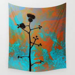 Agave Bloom Wall Tapestry