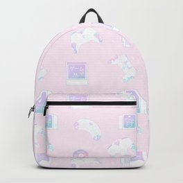 Gamer Pattern (pastel) Backpack