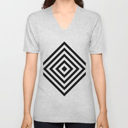 Diamond Gradient Unisex V-Neck