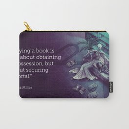 Books are Portals Carry-All Pouch