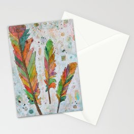Fell Through a Rainbow Stationery Cards