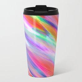 Colorful digital art splashing G399 Travel Mug