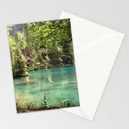 Blausee, Switzerland - Landscape Photography Stationery Cards