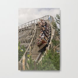 Europa Woody Metal Print