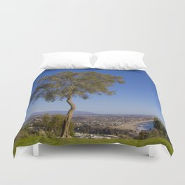 A Tree With A View Duvet Cover