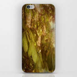 The Candle Tree. iPhone Skin