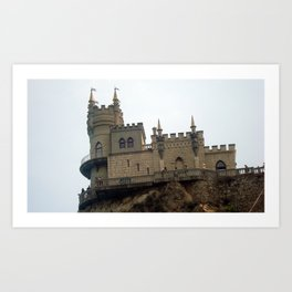 Yalta in the Crimea Art Print
