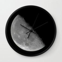Texas Moon Wall Clock