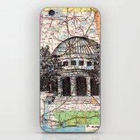 alabama iPhone & iPod Skins featuring Alabama by Ursula Rodgers
