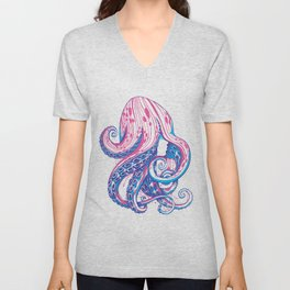 Curls Unisex V-Neck