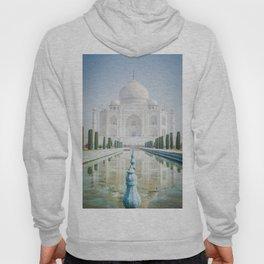 Taj Mahal Water Reflection Hoody
