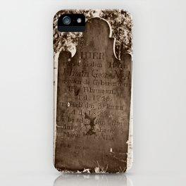 Johann iPhone Case