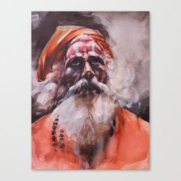 Swami, Spirit Master Canvas Print