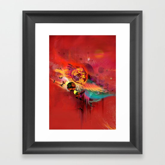 Uncaged Framed Art Print