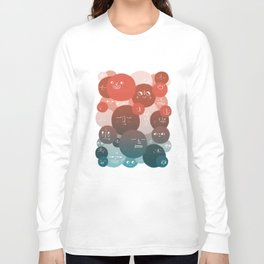 Blood Cells Long Sleeve T-shirt
