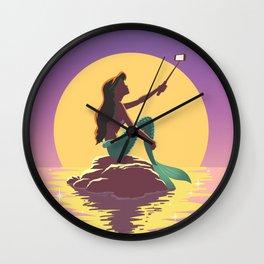 The Little Mermaid - Ariel Selfie Wall Clock