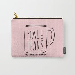 Male Tears, 100% Organic, Freshly Roasted Carry-All Pouch