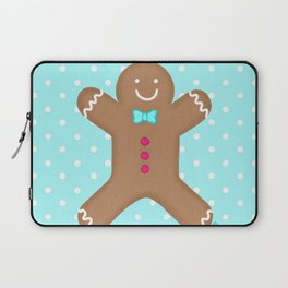 Yummy Gingerbread Man Cookie Laptop Sleeve