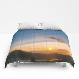 PNW Sunsets Comforters