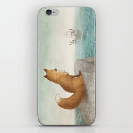 The Day the Antlered Ship Arrived iPhone Skin