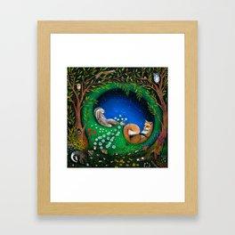 Midsummer Night's Dream Framed Art Print
