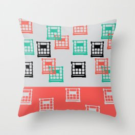 Crate Throw Pillow