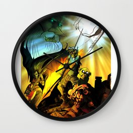 A Song of Ice King & Fire Wall Clock