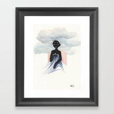 Cloud Child Framed Art Print