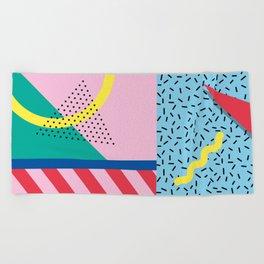 Memphis Party Beach Towel