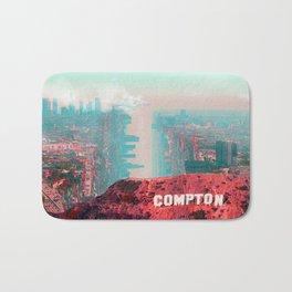 Compton Warped City Bath Mat
