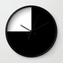 Only the Yin Wall Clock