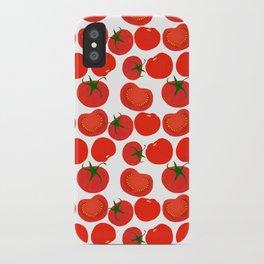 Tomato Harvest iPhone Case