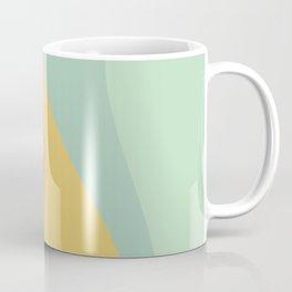 Abstract Color Waves - Bright Rainbow Coffee Mug